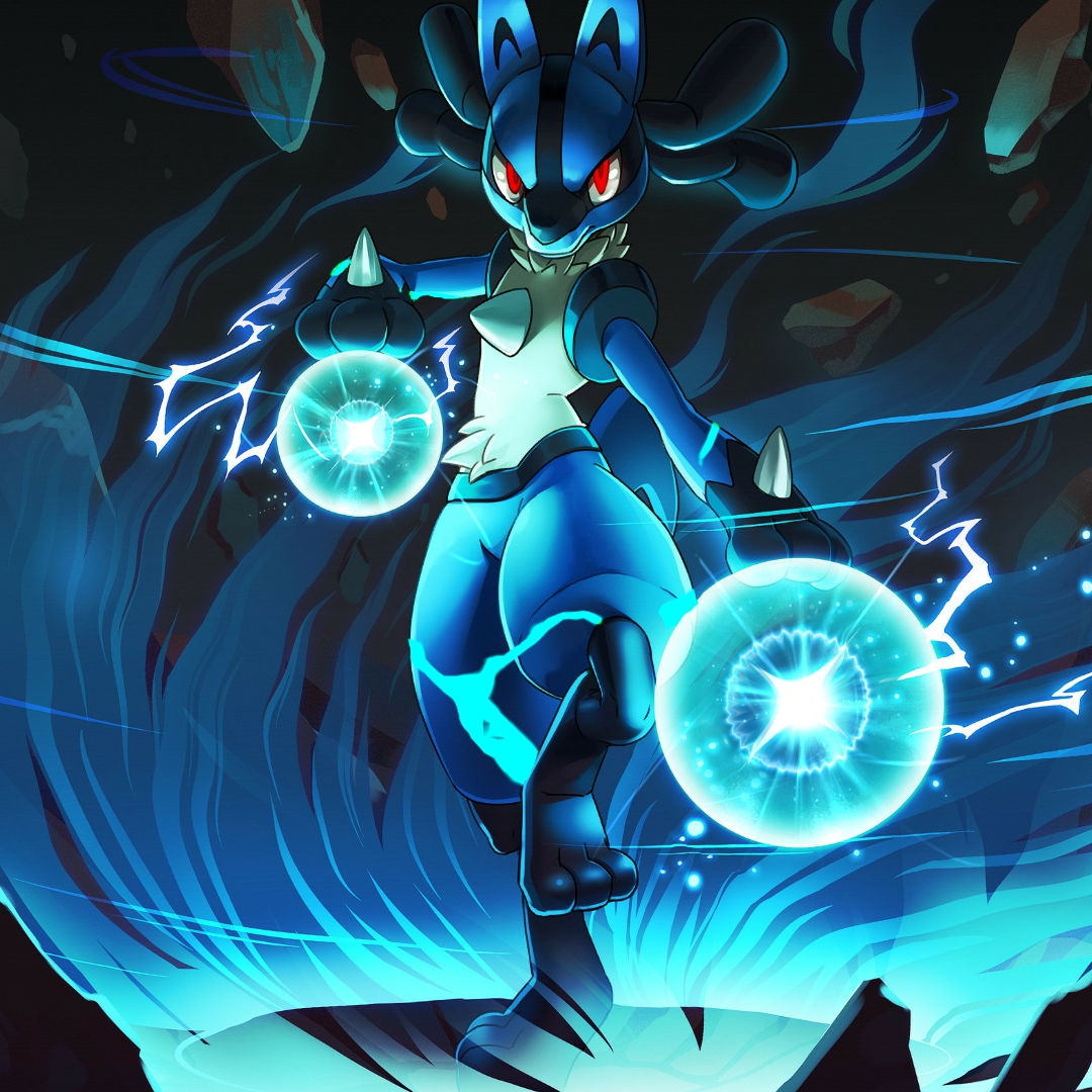 Pokemon Lucario 1080x1080 Wallpaper Teahub Io