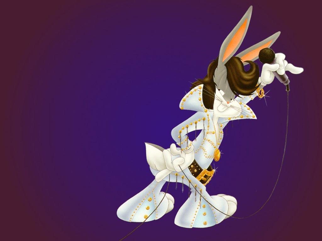 Bugs Bunny - Bugs Bunny Elvis - HD Wallpaper