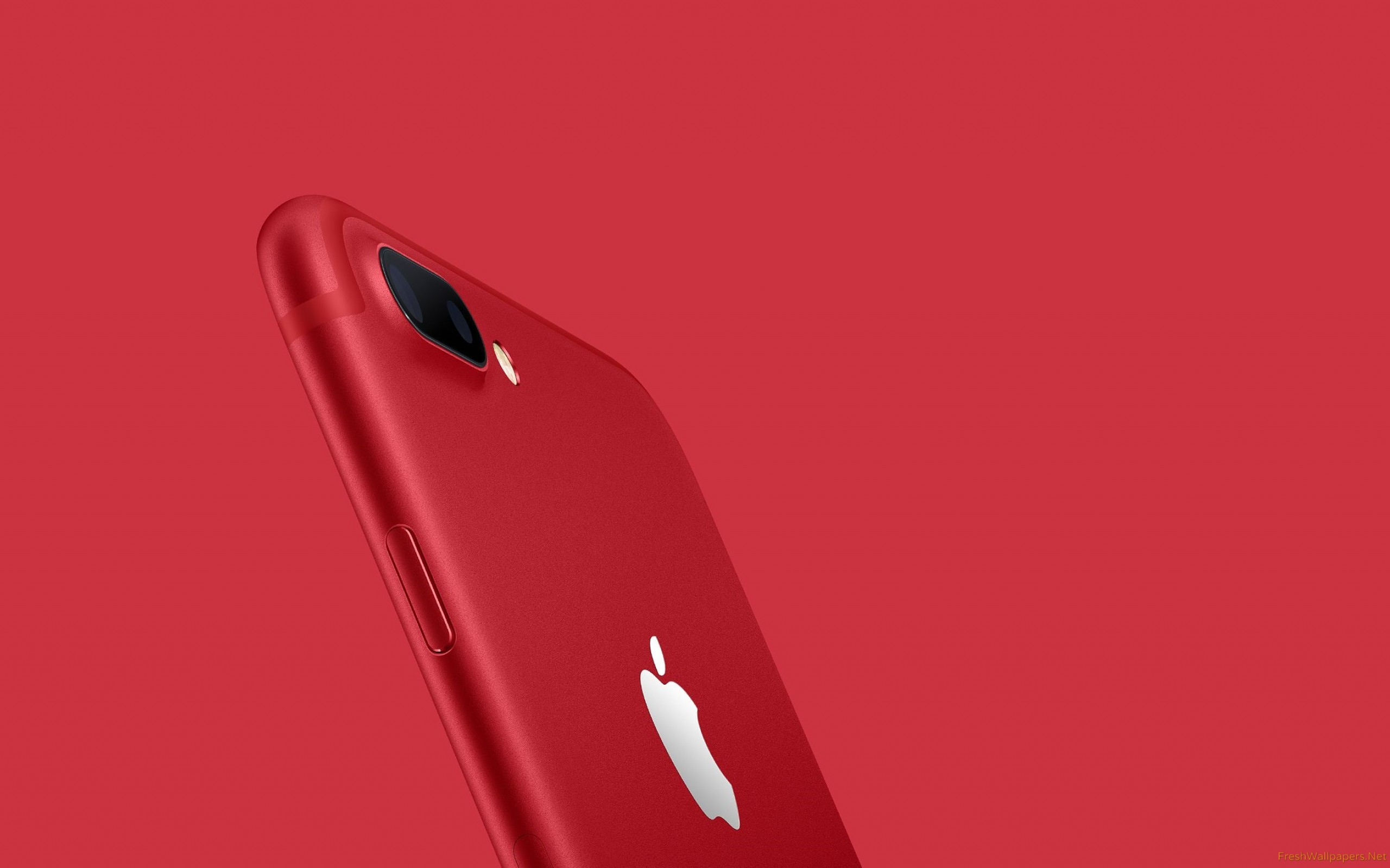 Iphone Red 7 Plus - HD Wallpaper