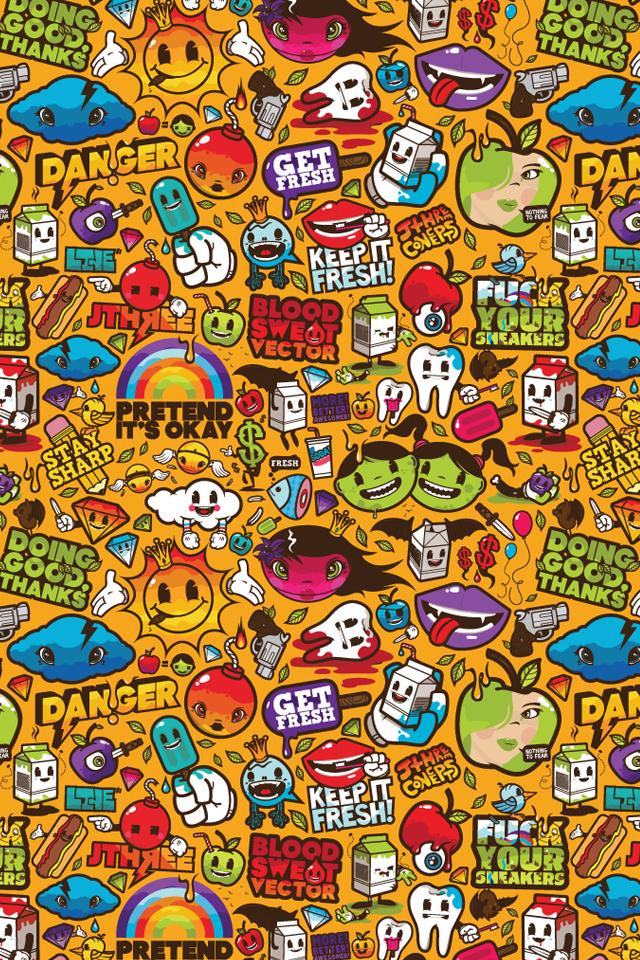 Cartoon Hd Iphone Wallpaper Download - Cartoon Iphone Wallpaper Hd - HD Wallpaper