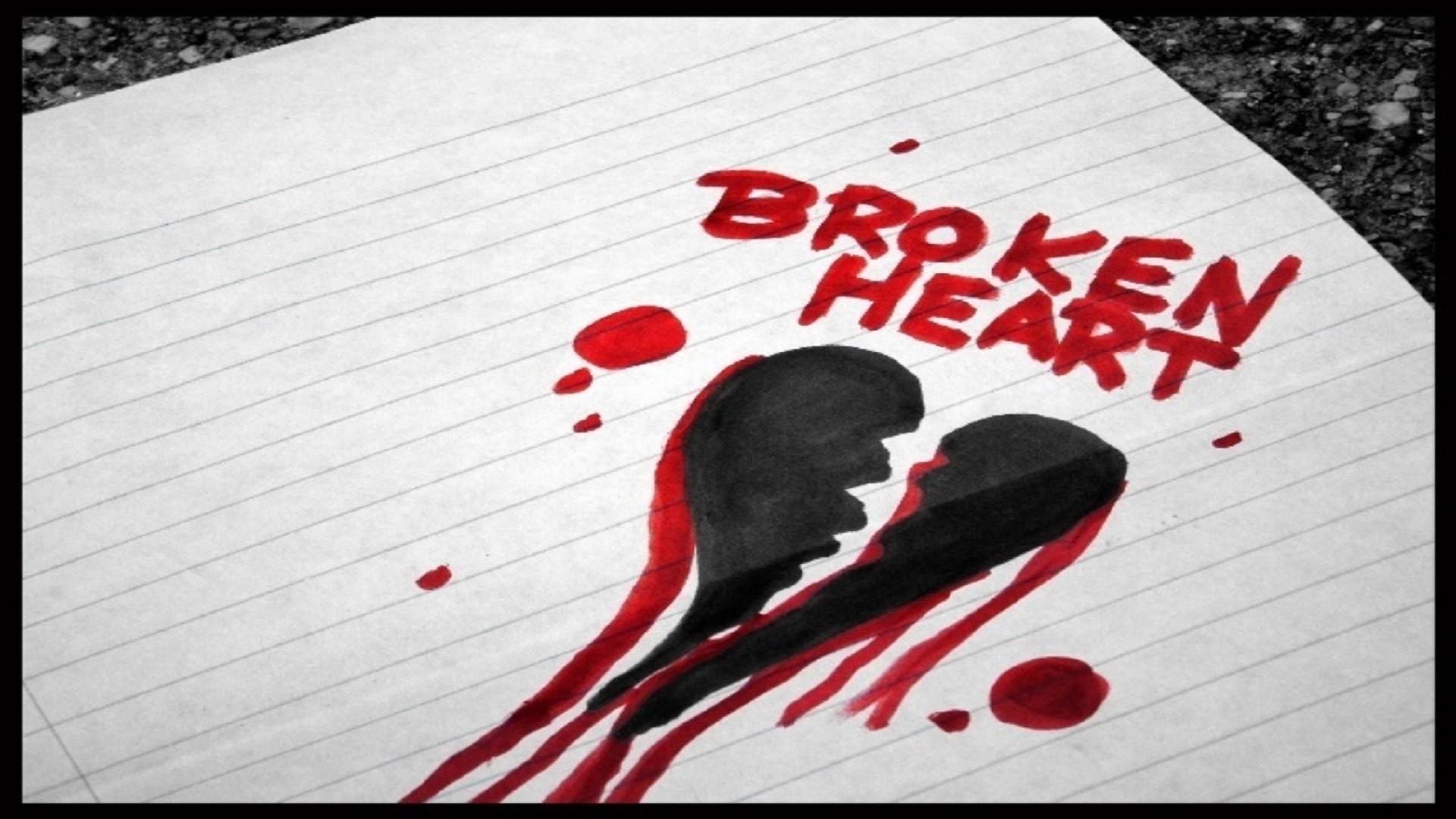 1920x1080, You Make Me Broken Heart Hd Free Wallpapers - Broken Heart Pictures For Girls - HD Wallpaper