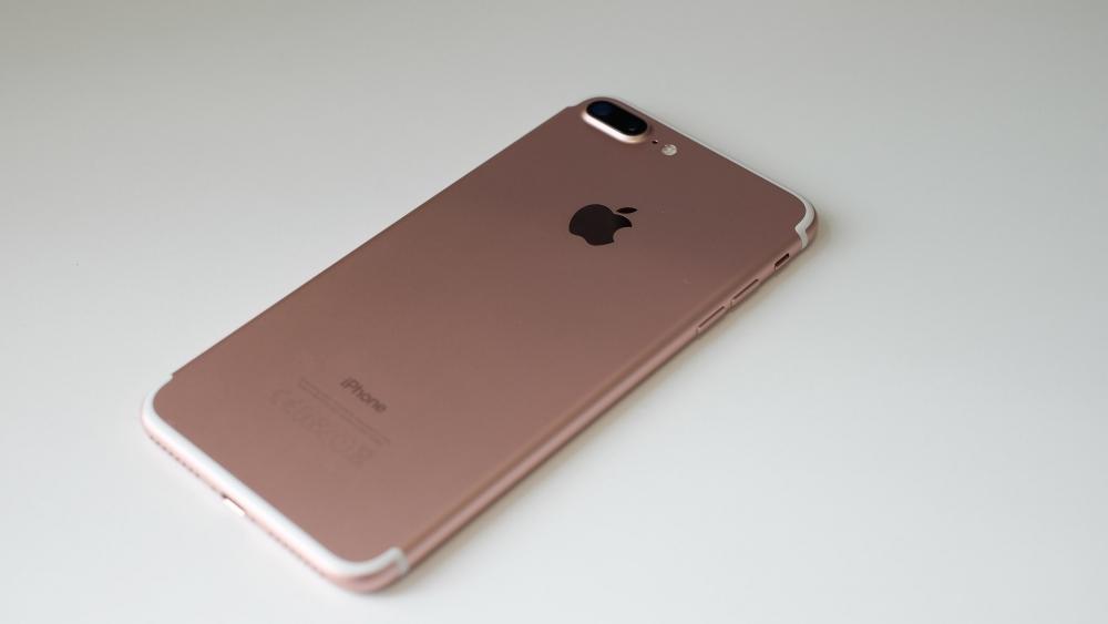 Iphone 7 Plus, Back View, Camera, Apple Logo - Iphone 7 Plus Images Hd - HD Wallpaper