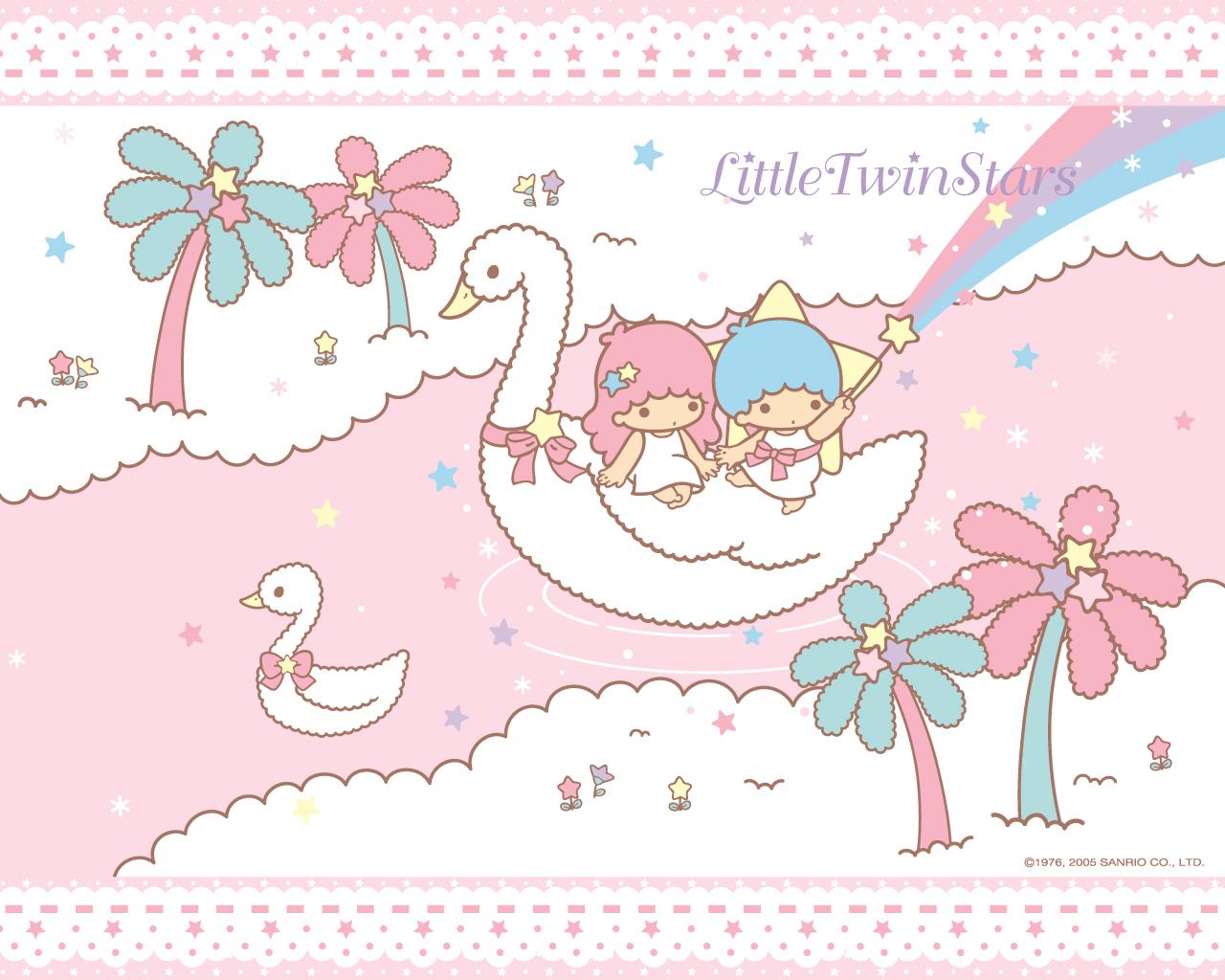 Little Twin Stars - Little Twin Star Hd - HD Wallpaper