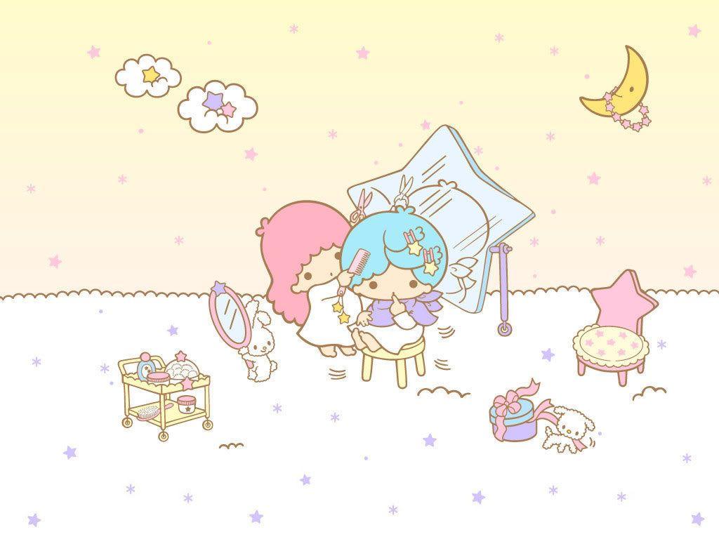 Little Twin Stars Kiki Cute - HD Wallpaper