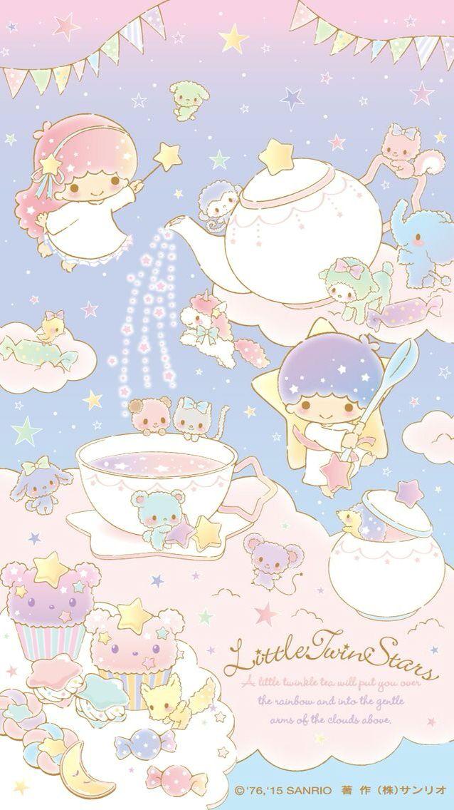 Little Twin Stars Phone - HD Wallpaper