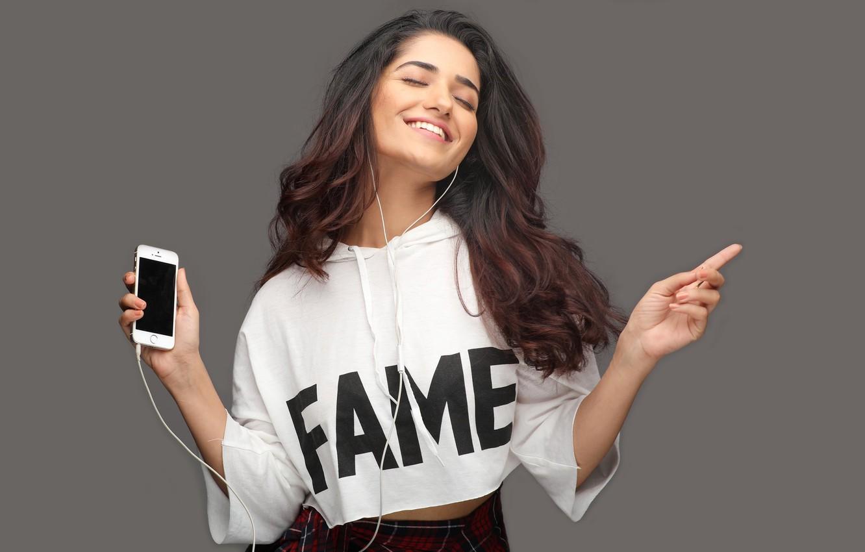 Photo Wallpaper Girl, Hot, Sexy, Eyes, Smile, Beautiful, - Ruhani Sharma Hd - HD Wallpaper
