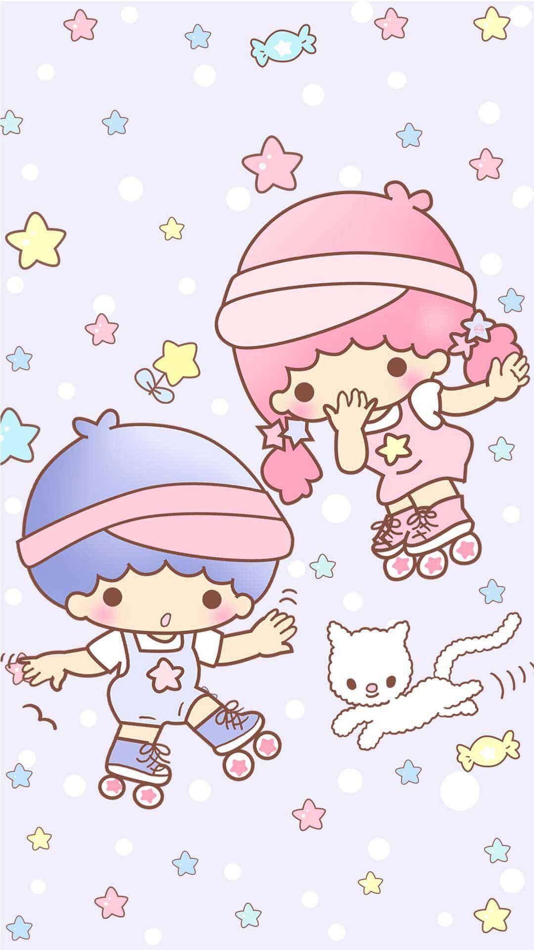 Sanrio Characters Little Twin Stars - HD Wallpaper