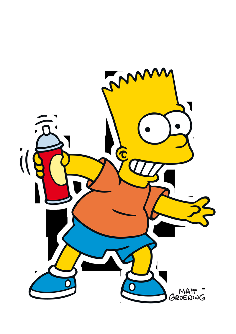 Download Free Png Wallpaper Hd For Bart Simpson - Bart Simpson Wallpaper Png - HD Wallpaper