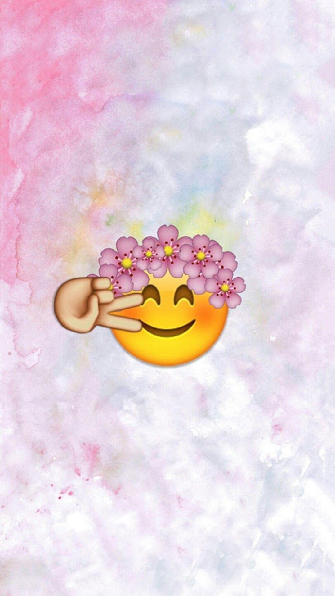 1080x1920, Emoji Wallpaper, Wallpaper For Iphone, Cute ...