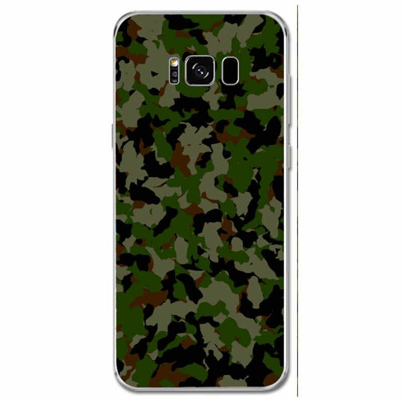 Maiyaca Outdoor Camouflage Wallpaper Soft Rubber Black - Army Pattern Aesthetic - HD Wallpaper