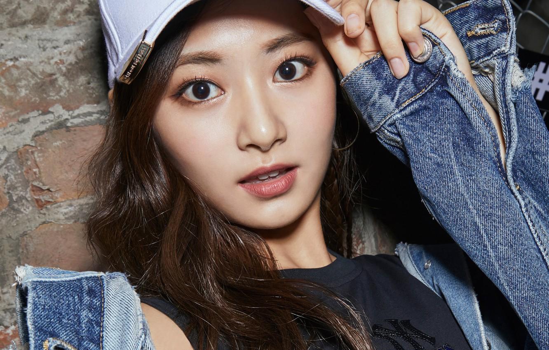 Photo Wallpaper Girl, Music, Kpop, Cute, Twice, Tzuyu - Tzuyu Hd - HD Wallpaper
