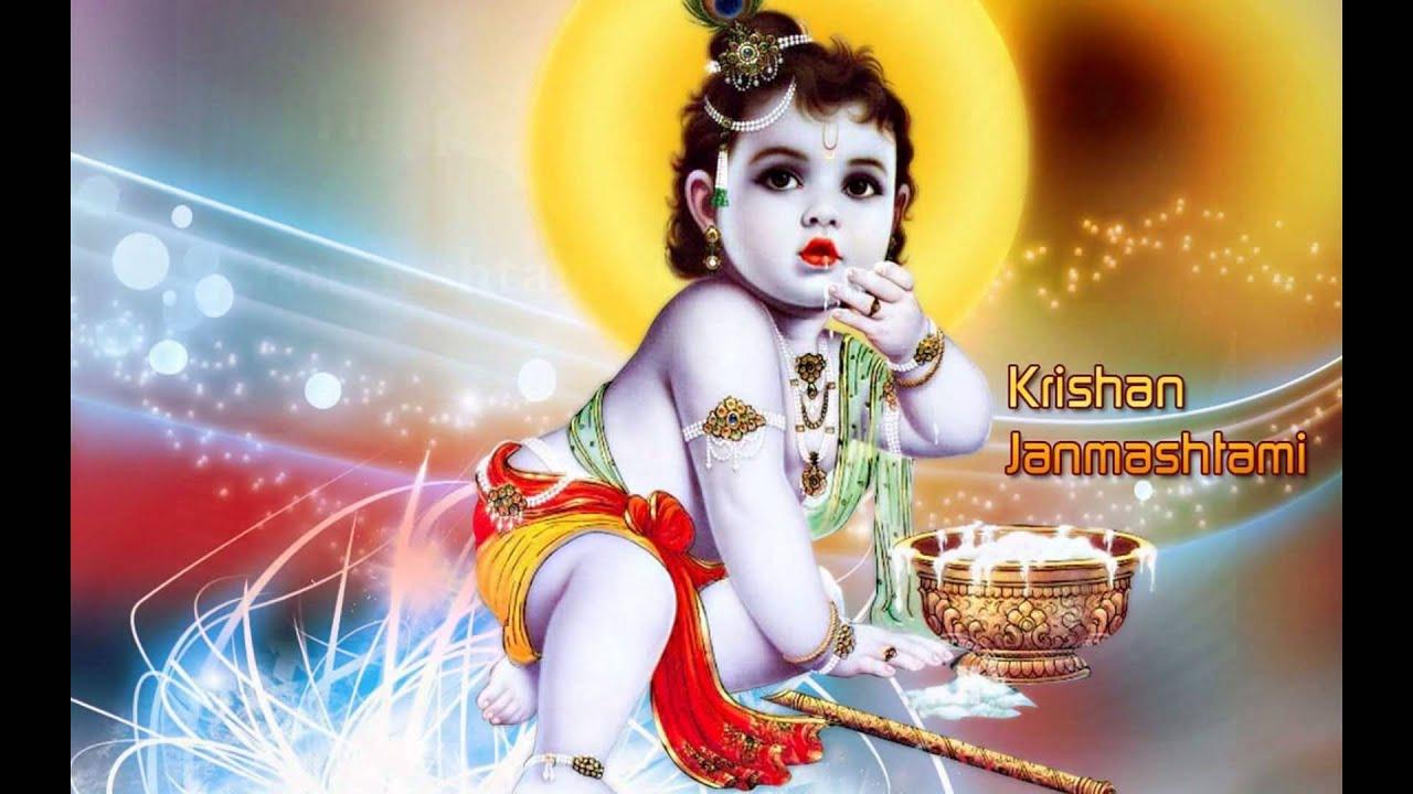 Krishna Janmashtami Images 2019 - HD Wallpaper