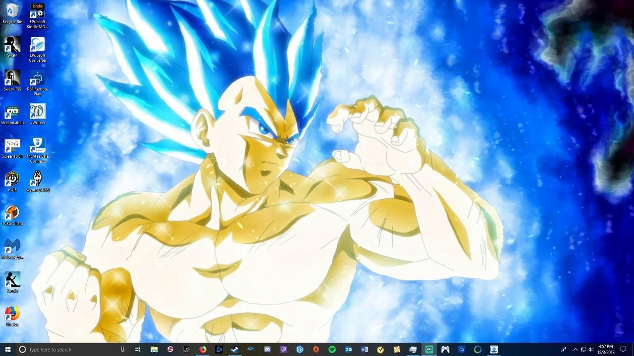 Vegeta Super Saiyan Blue Evolution 1280x720 Wallpaper Teahub Io
