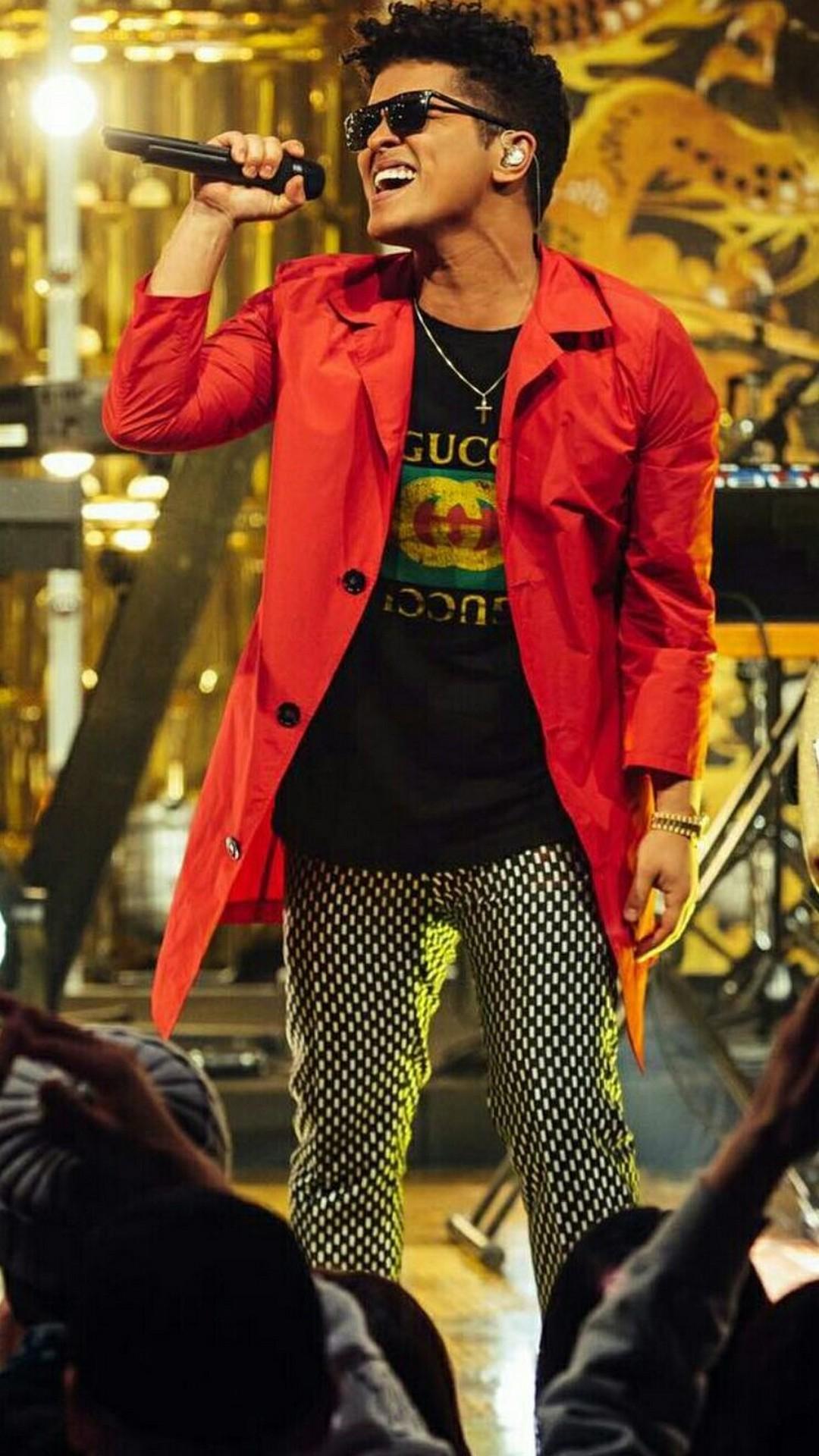 Bruno Mars Concert Iphone Wallpaper Resolution - Bruno Mars Wallpaper Iphone - HD Wallpaper