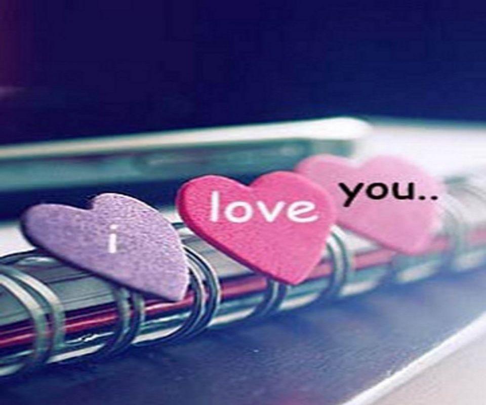 Love You Mobile Wallpaper Hd - HD Wallpaper