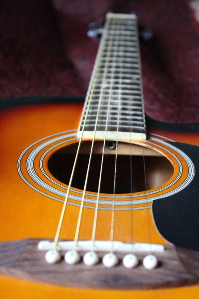 Acoustic Guitar Wallpaper Iphone 640x960 Wallpaper Teahub Io