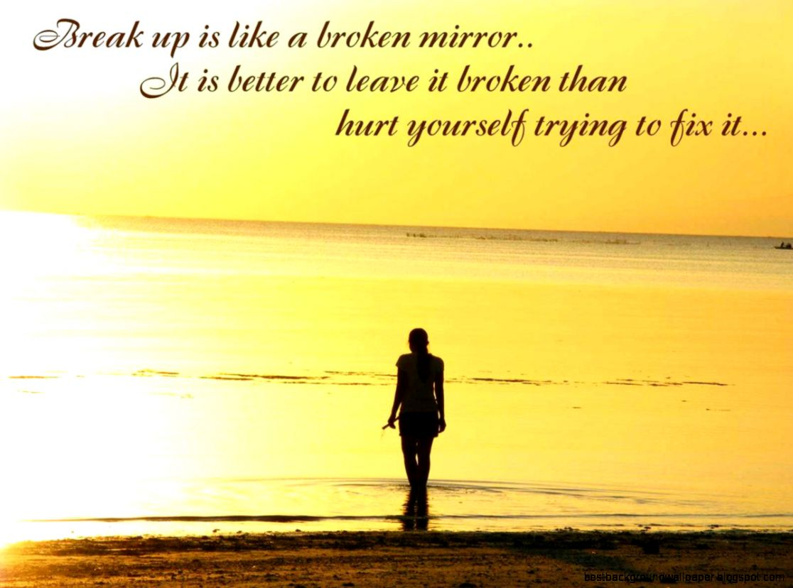 Breakup Wallpapers With Quotes Daily Backgrounds In - Sad Love Wallpapers With Quotes - HD Wallpaper