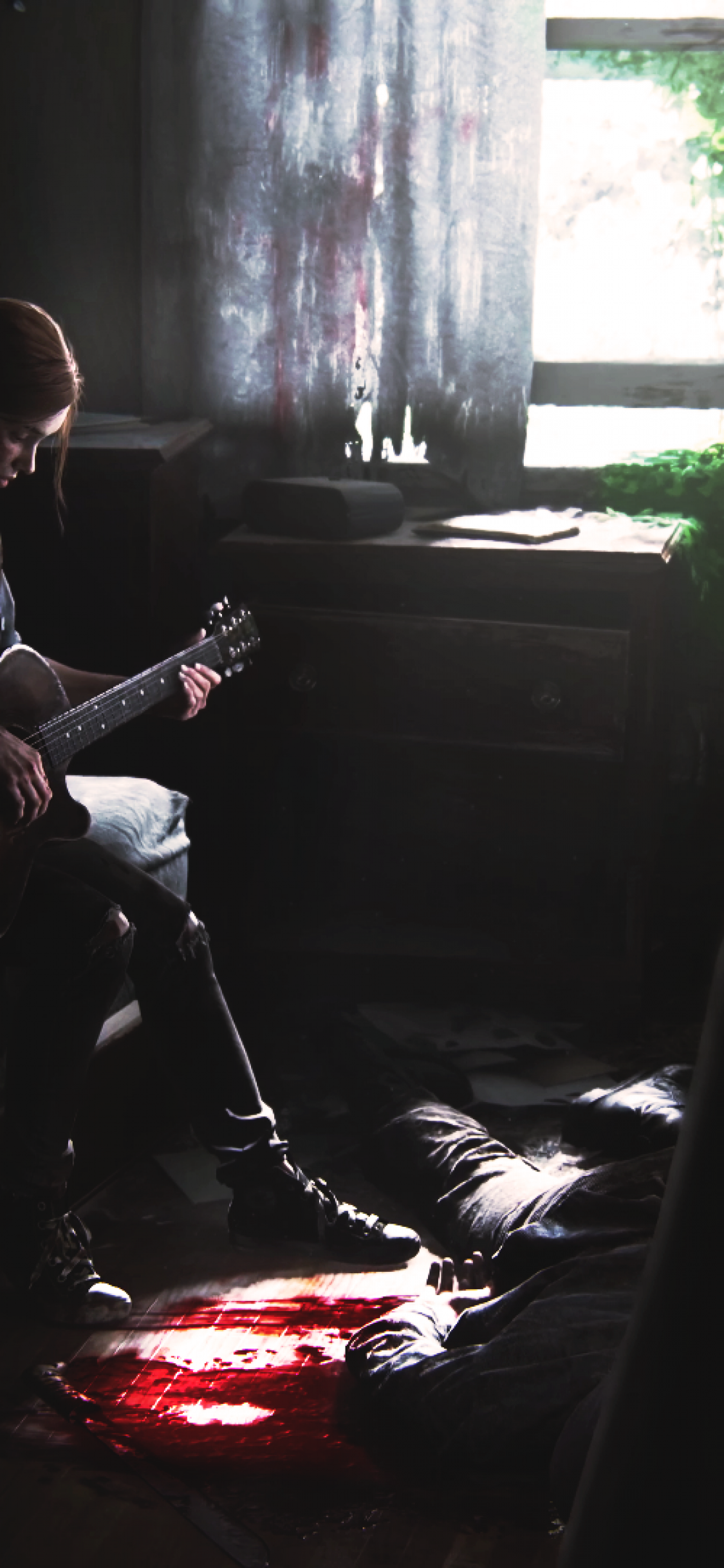 The Last Of Us 2, Ellie, Playing Guitar - Poster The Last Of Us Part 2 - HD Wallpaper
