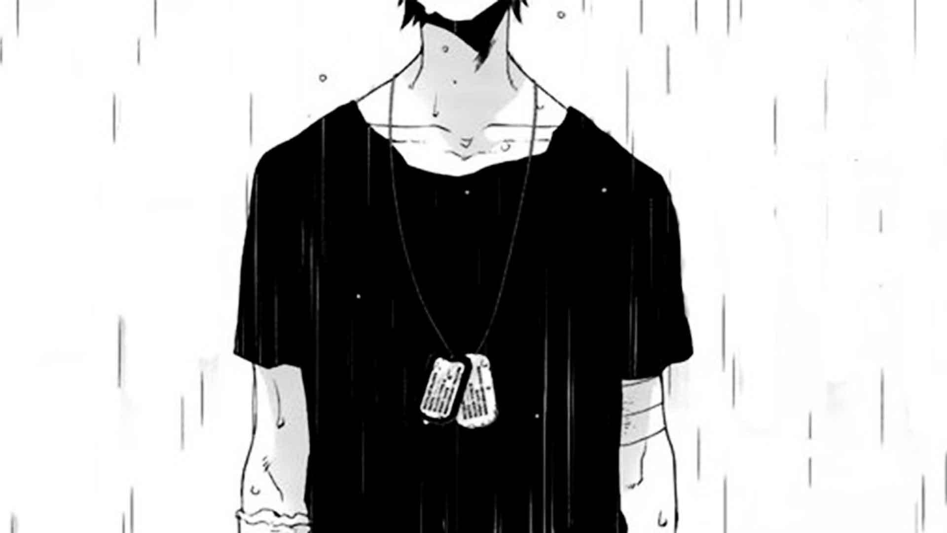 1920x1080, Sad Anime Boy In The Rain Sketch Sad Boy - Alone Sad Anime Boy - HD Wallpaper