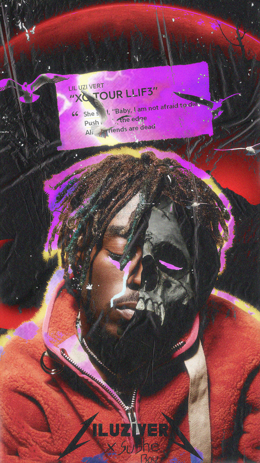 Die Today Lil Uzi 900x1600 Wallpaper Teahub Io