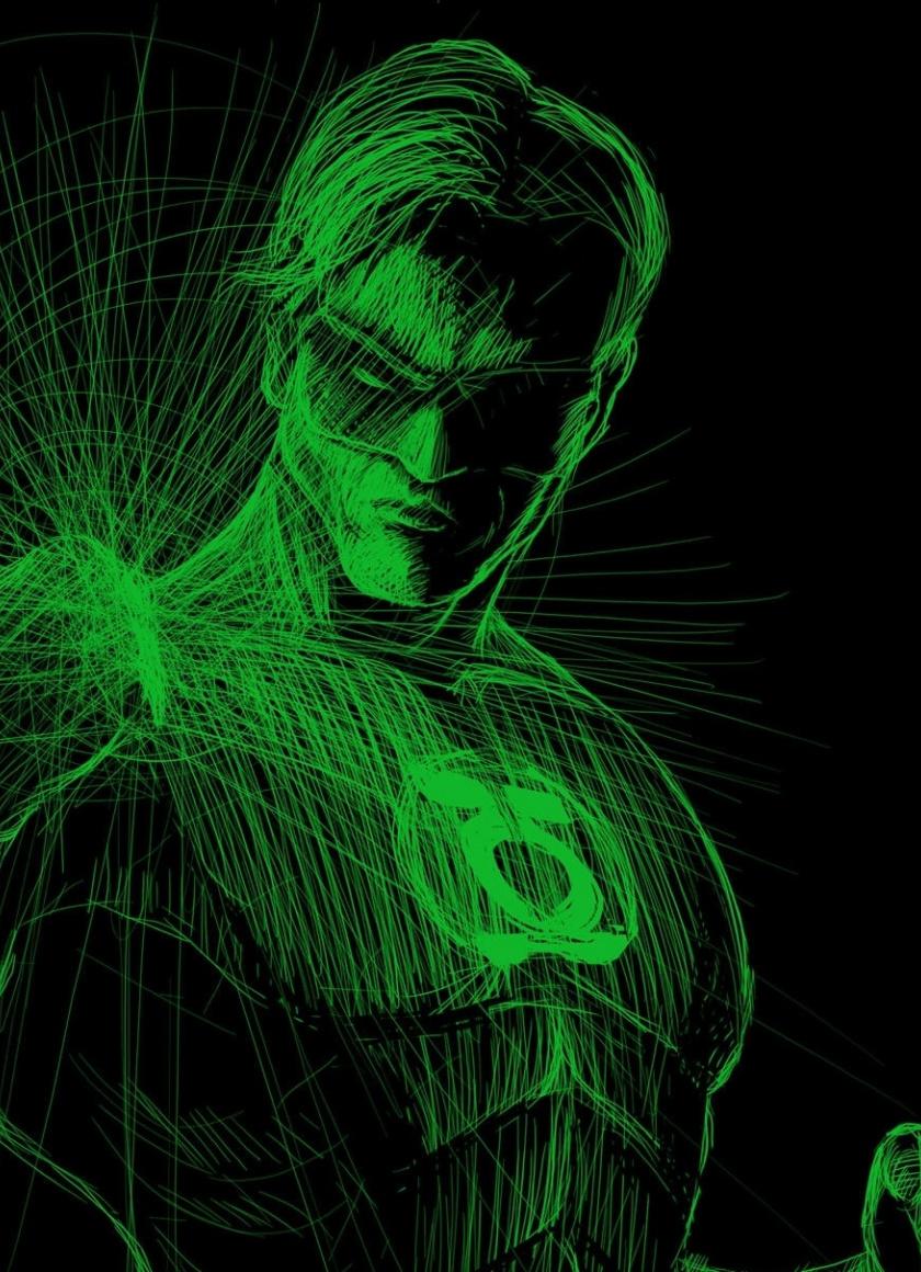Lines Art Green Lantern Art Wallpaper Green Lantern Wallpaper 4k 840x1160 Wallpaper Teahub Io