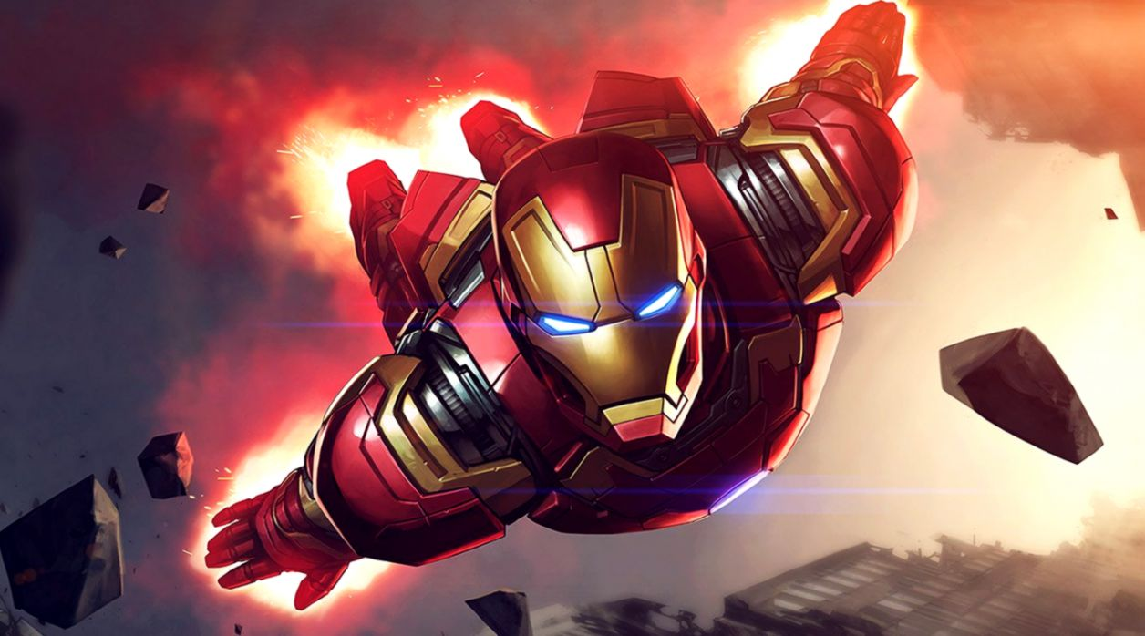 Wallpaper For Desktop Laptop Az71 Ironman Hero Marvel Laptop Iron Man Wallpaper Hd 1256x698 Wallpaper Teahub Io