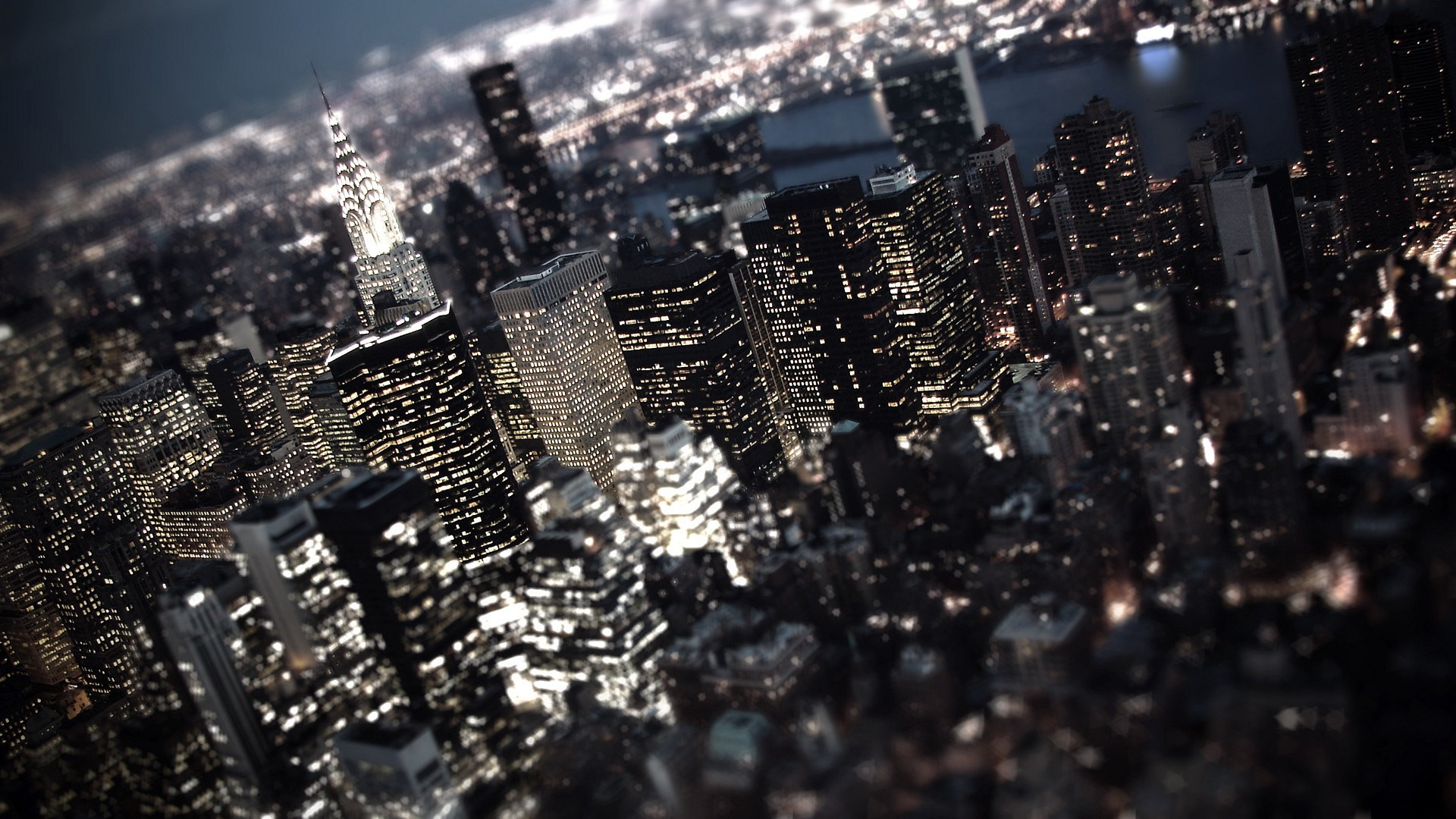 Wallpaper My Blog - New York City Night Time - HD Wallpaper