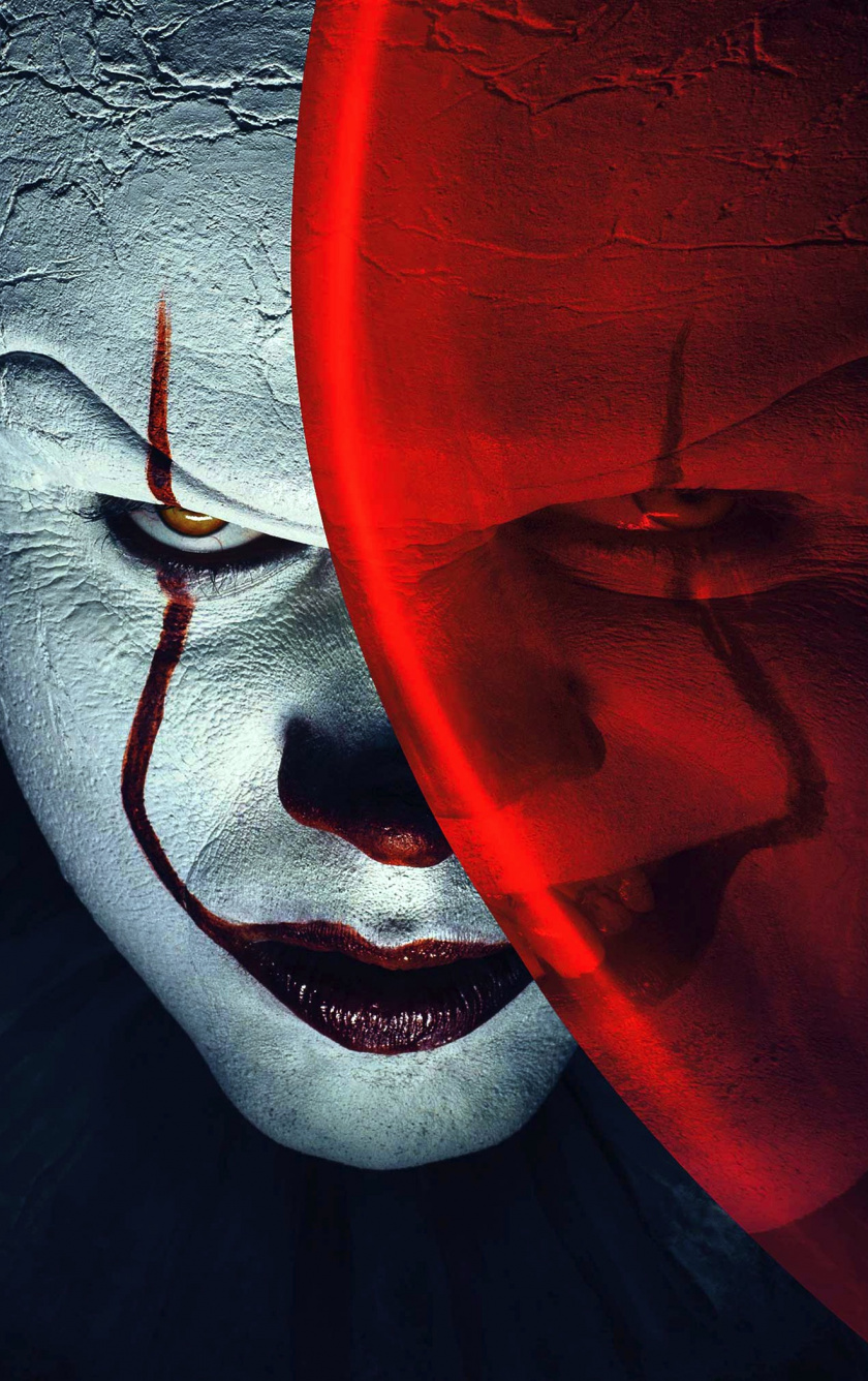 Wallpaper Joker, Clowns, It, Balloon, Movie, 4k - Joker Wallpaper 4k For Mobile - HD Wallpaper
