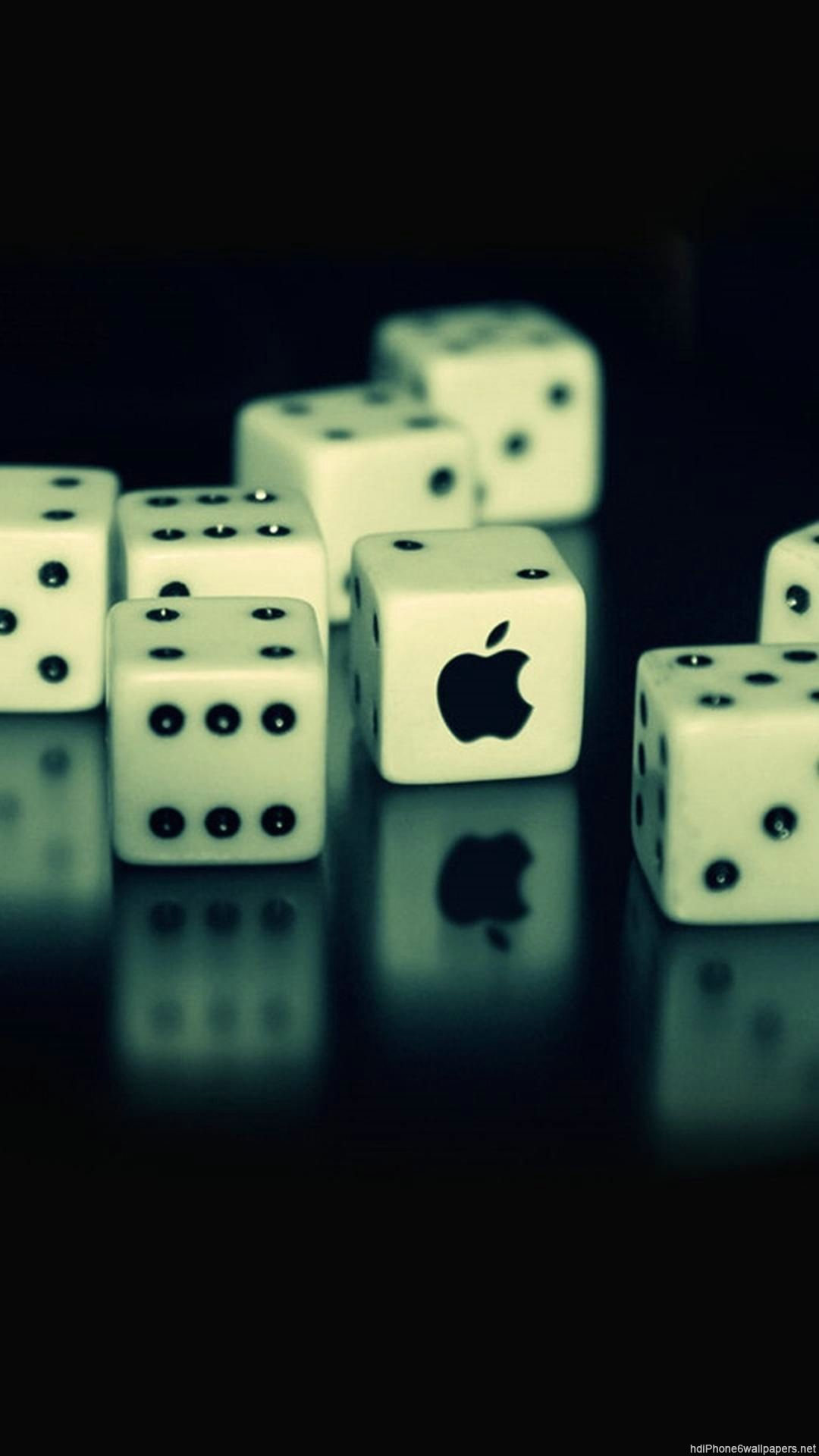 Apple Dice Computer Iphone 6 Wallpapers Hd And 1080p - Best Wallpapers For I Phone - HD Wallpaper