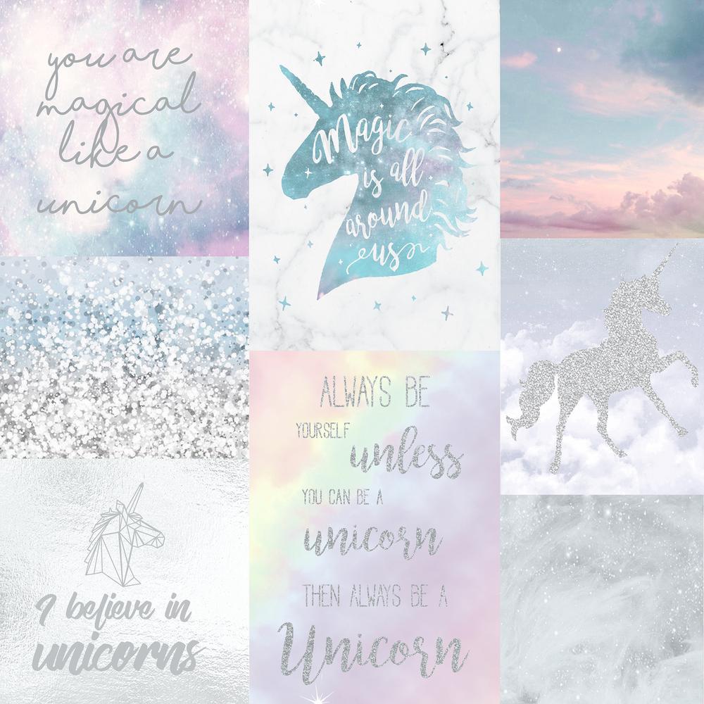 Believe In Unicorns 1000x1000 Wallpaper Teahub Io