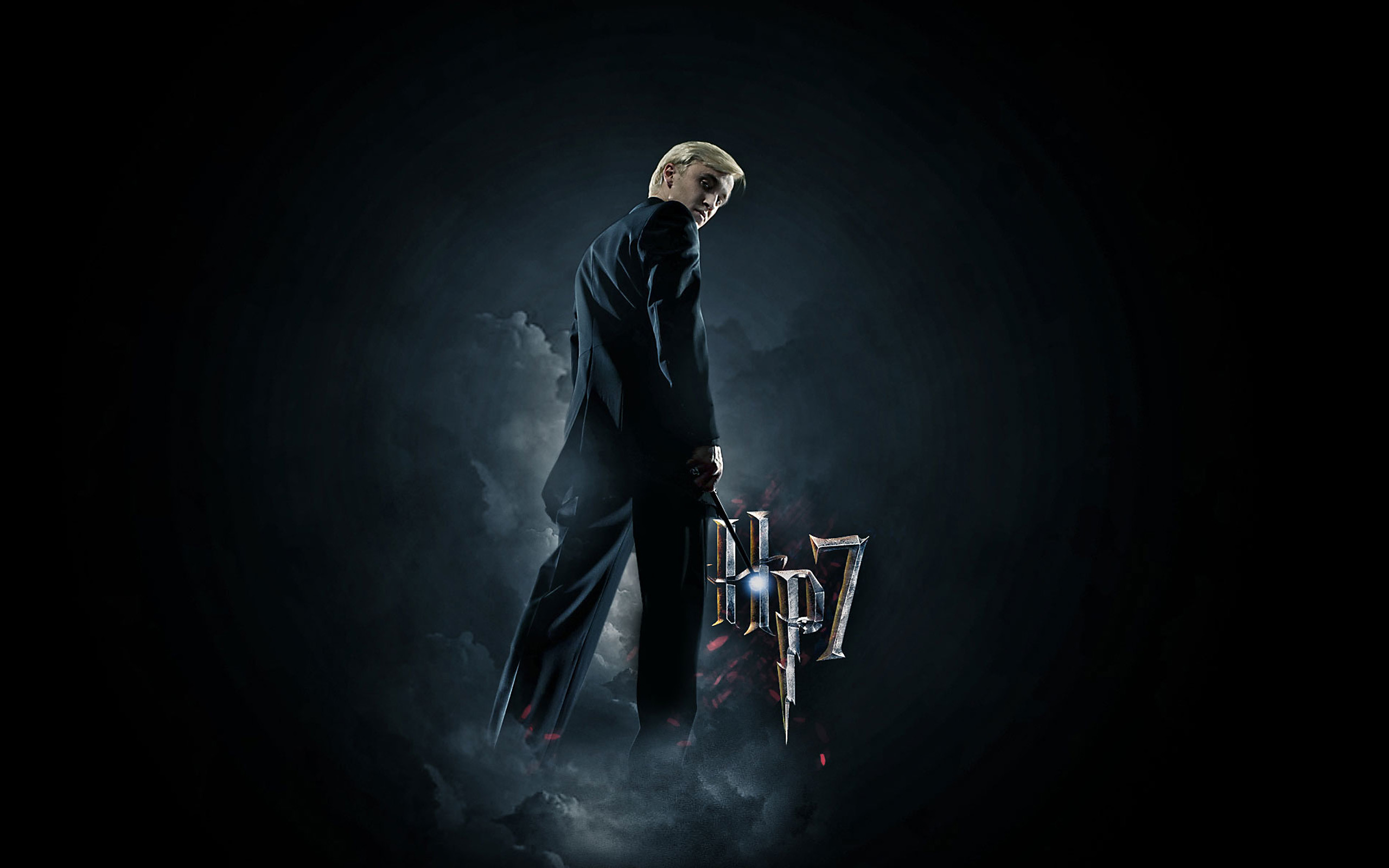 Draco Malfoy 2560ã—1600 Hp7   Data-src - Harry Potter And The Deathly Hallows: Part Ii (2011) - HD Wallpaper