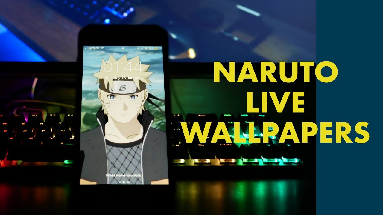 Naruto Live Wallpaper Iphone - HD Wallpaper