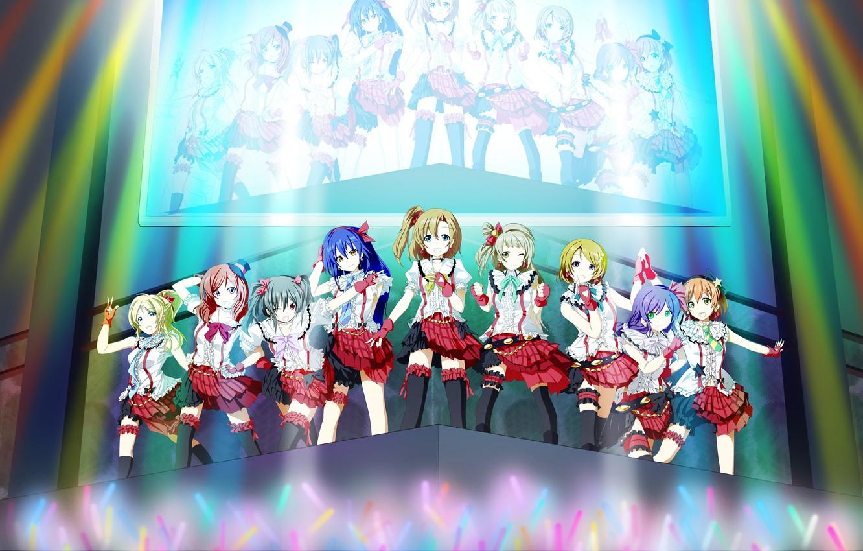 Photo Wallpaper Ayase Hand, Love Live School Idol Project, - Love Live School Idol Project Kotori Stage - HD Wallpaper