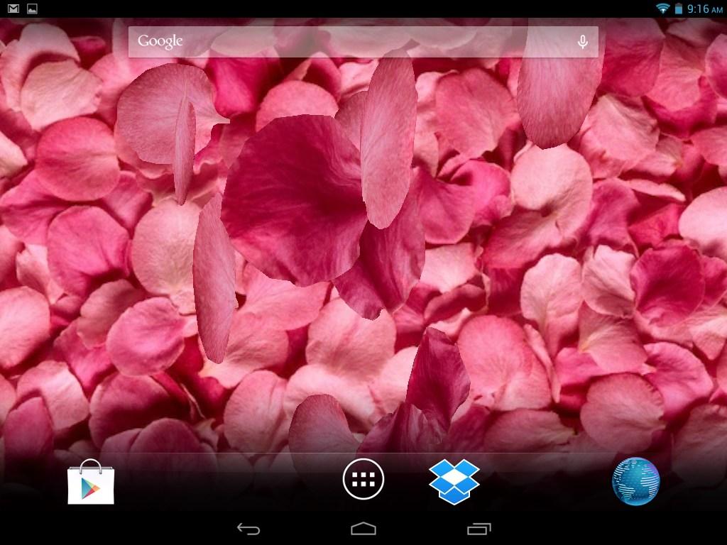 Samsung Galaxy S Duos Live Wallpaper Falling Rose Petals Live 1024x768 Wallpaper Teahub Io