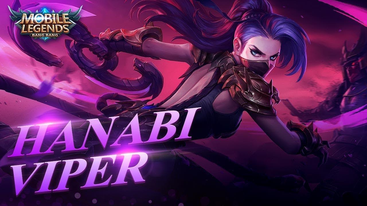 Hanabi Viper Mobile Legends - Mobile Legends Hanabi Skin - HD Wallpaper