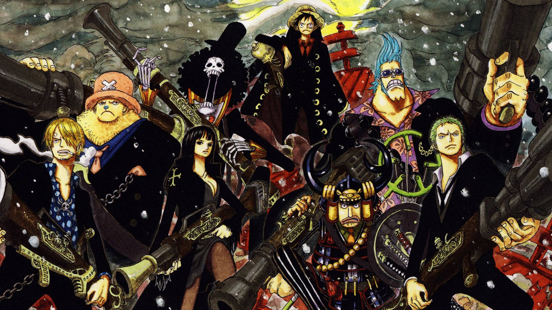 One Piece Wallpapers - One Piece Wallpaper For Ps4 - HD Wallpaper