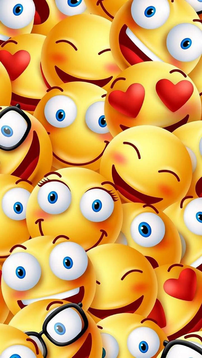 Gambar Kartun Lucu Emoji Wallpaper Download 700x1243 Wallpaper Teahub Io