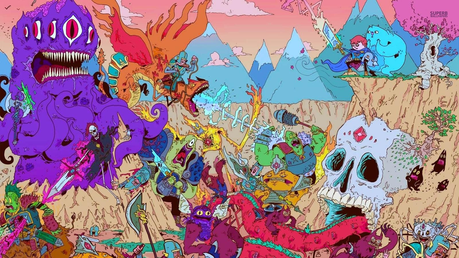 Adventure Time - Hd Wallpaper Adventure Time - HD Wallpaper