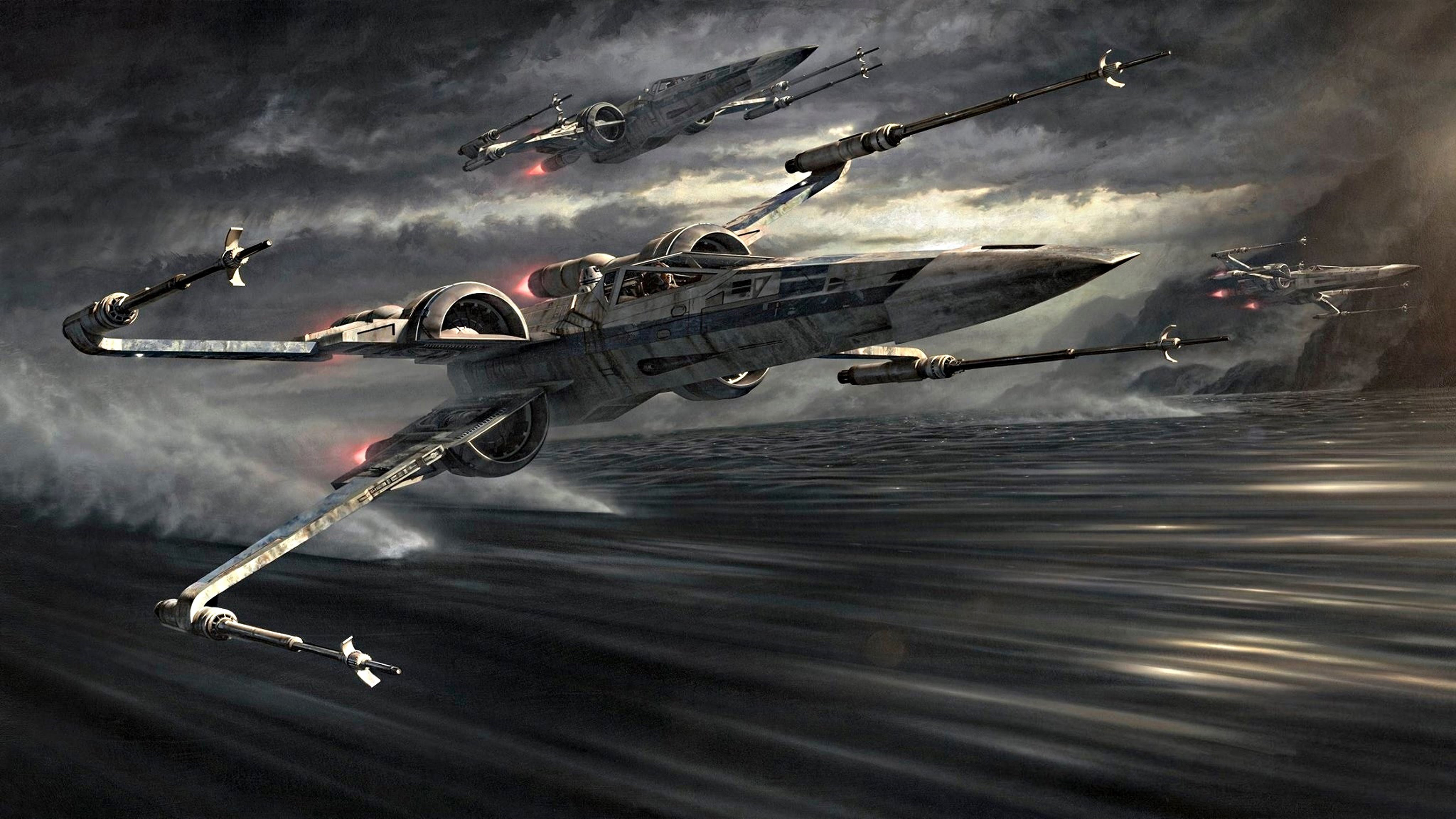 Star Wars X Wing Art 3840x2160 Wallpaper Teahub Io