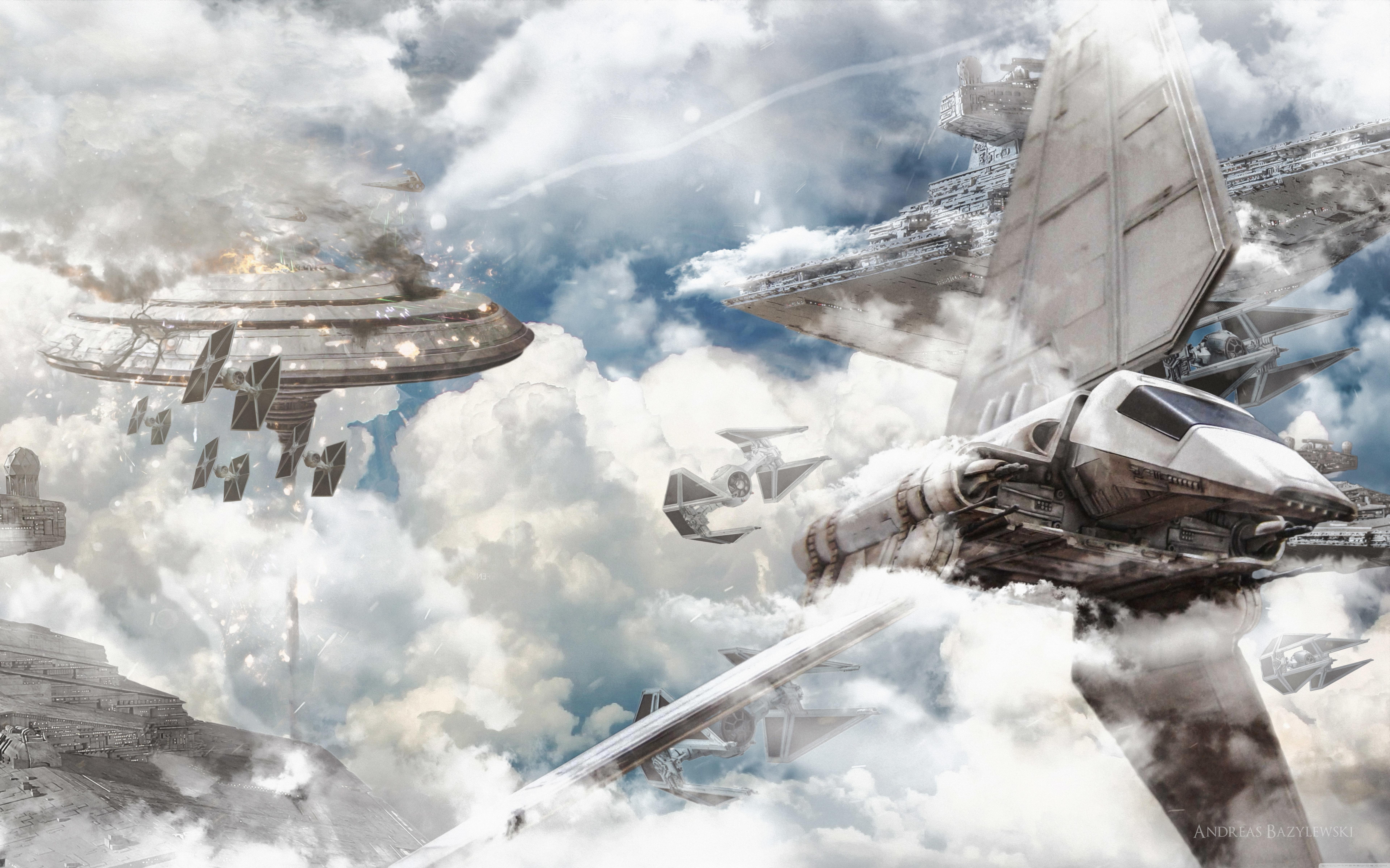 Star Wars Ships Widescreen Wallpaper Hd Is Cool Wallpapers Desktop Wallpaper Star Wars 7680x4800 Wallpaper Teahub Io