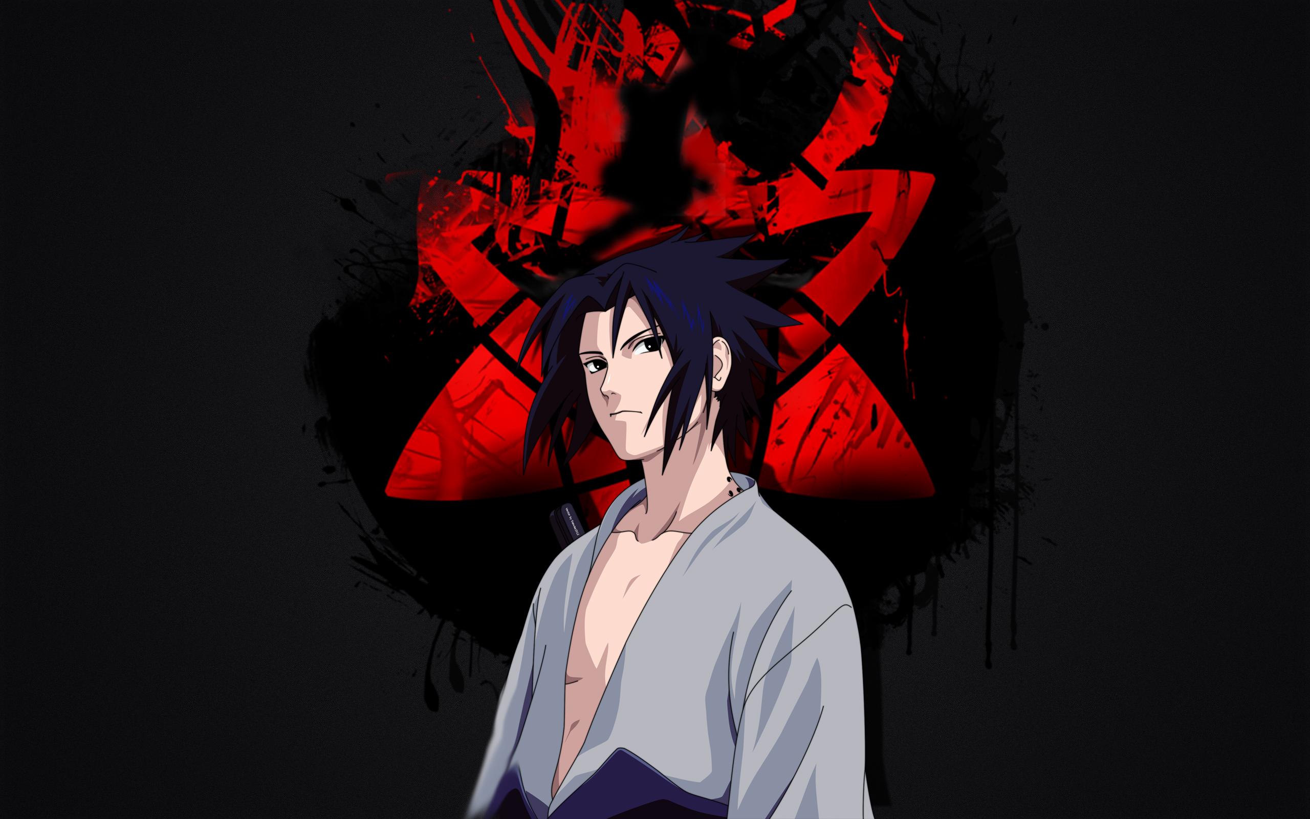 Wallpaper Of Anime, Naruto, Sasuke Uchiha, Sharingan - Uchiha Wallpaper Sasuke - HD Wallpaper