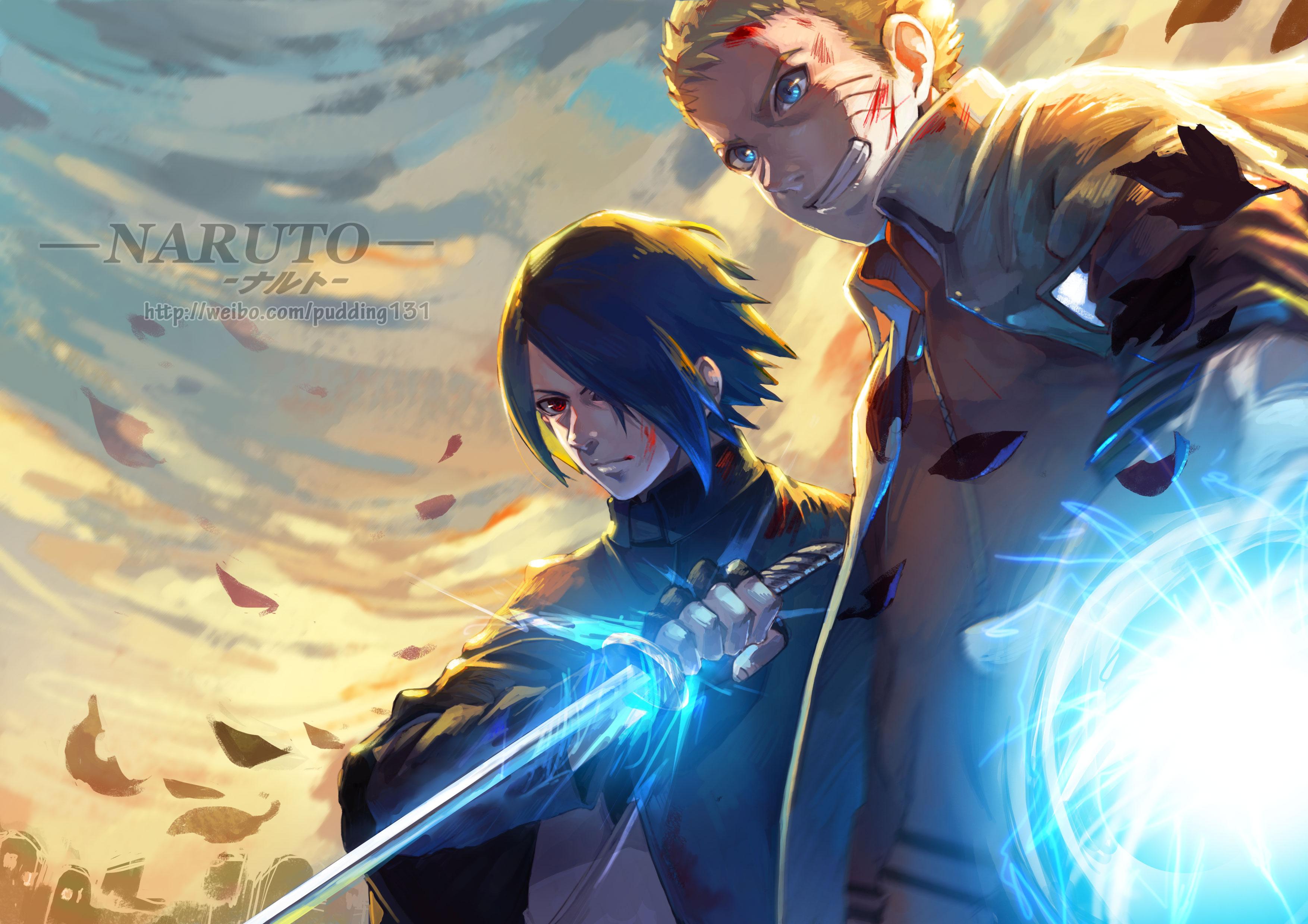 Wallpaper Of Anime, Naruto Uzumaki, Sasuke Uchiha, - Sasuke Uchiha Wallpaper Hd - HD Wallpaper