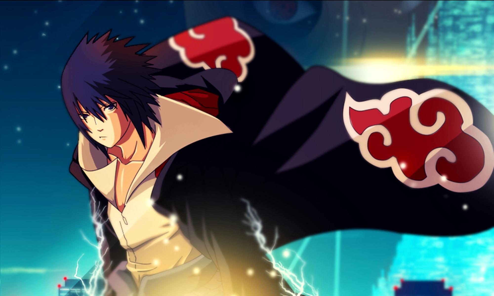 Uchiha Sasuke Wallpaper Image Pics - Sasuke Uchiha Akatsuki Art - HD Wallpaper