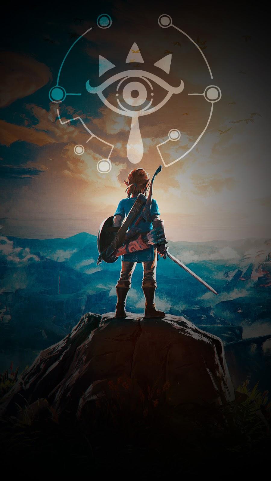 Legend Of Zelda Breath If The Wild Link - HD Wallpaper