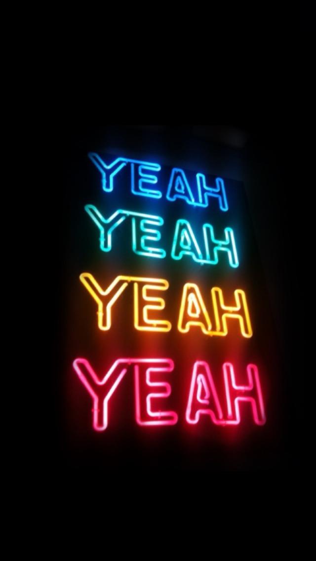Neon Sign Black Background 640x1136 Wallpaper Teahub Io