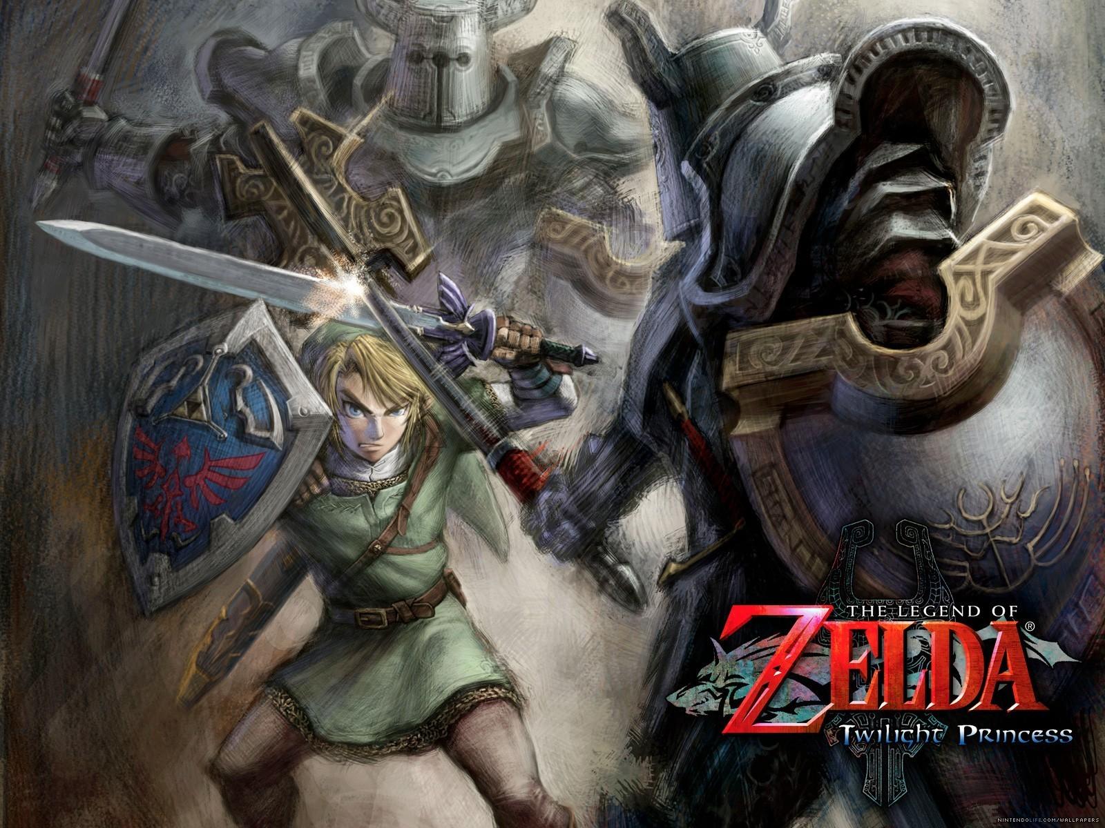 Legend Of Zelda Wallpaper The Legend Of Zelda 5433362 - Legend Of Zelda Twilight Princess Art Work - HD Wallpaper