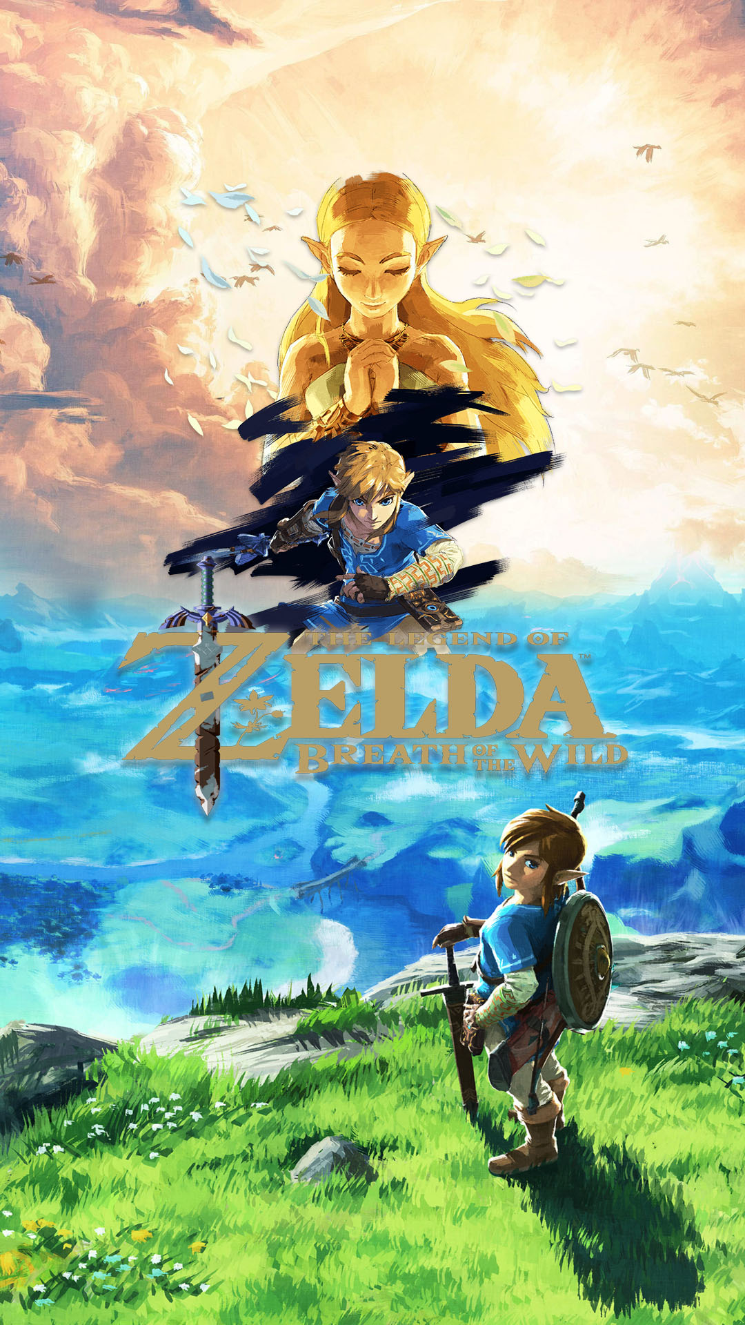 Zelda Phone Wallpaper Picserio Zelda Breath Of The Wild 1080x1920 Wallpaper Teahub Io