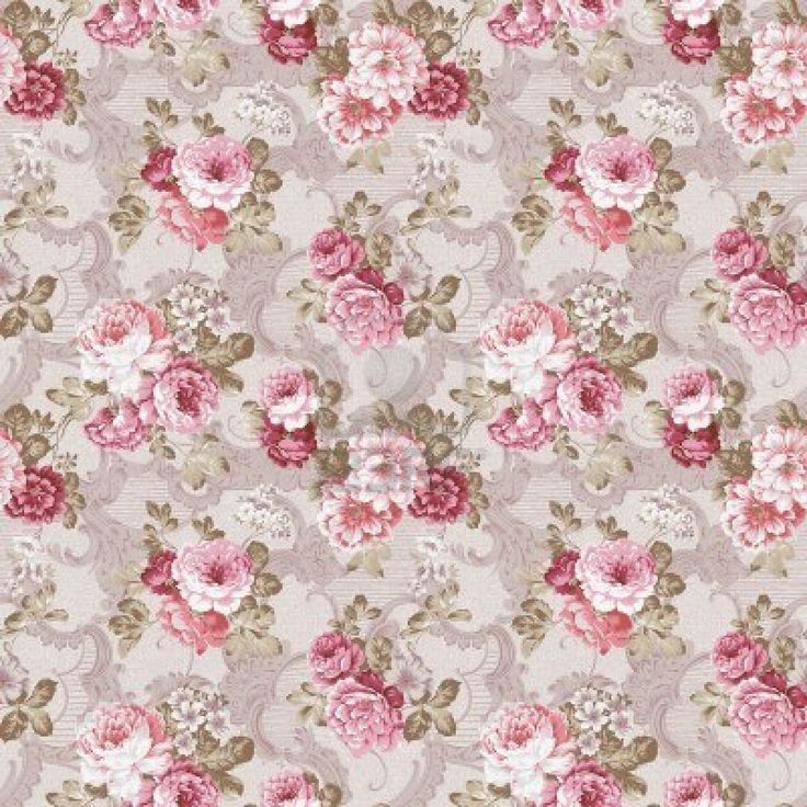 78 Best Ideas About Floral Backgrounds On Pinterest - Cute Vintage Floral Backgrounds - HD Wallpaper