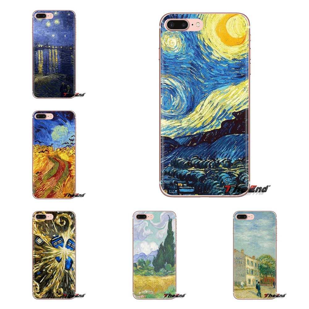 Van Gogh Desktop Wallpaper For Samsung Galaxy S3 S4 - Van Gogh Starry Night - HD Wallpaper