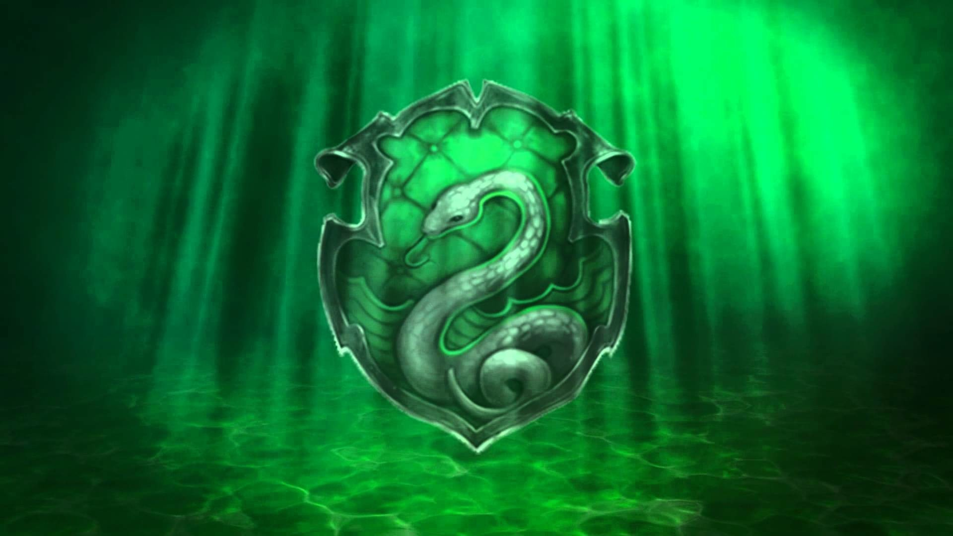 1920x1080, Movies Wallpaper - Slytherin Background - HD Wallpaper
